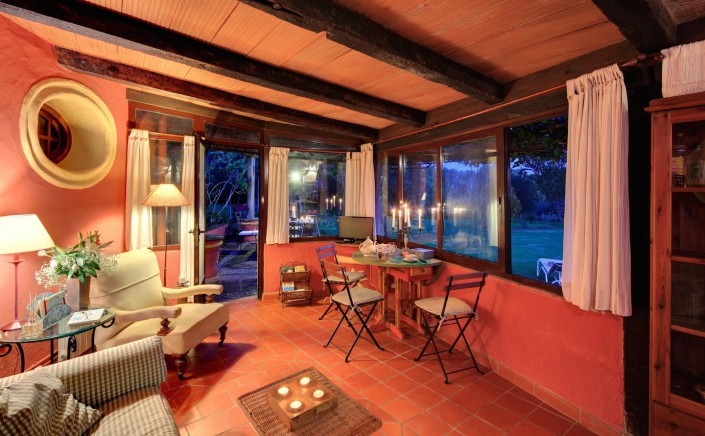 Tarifa Best Place To Stay|Casa Luna| Living Area Evening View