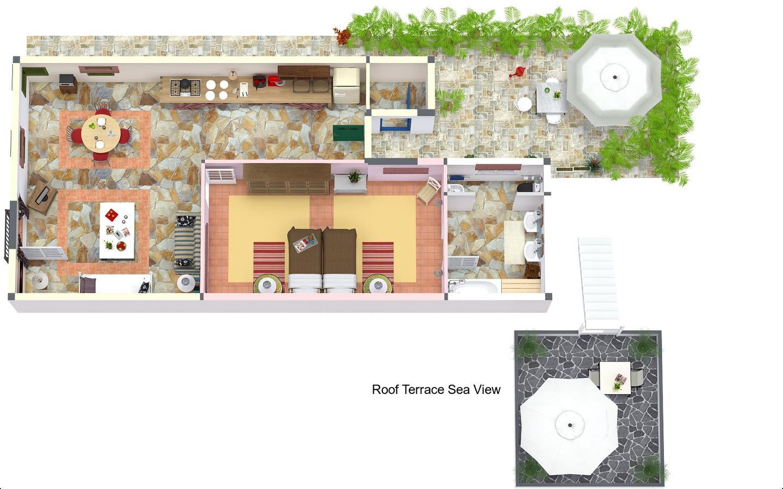 Casa Tramontana Floorplan
