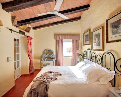 Cortijo La Hoya | Best Place To Stay in Tarifa, Spain | Casa Sol Bedroom