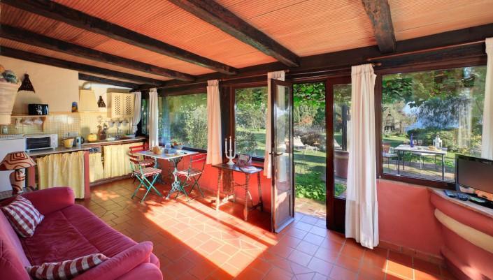 Cortijo La Hoya | Best Place To Stay in Tarifa, Spain | Casa Sol Living Room