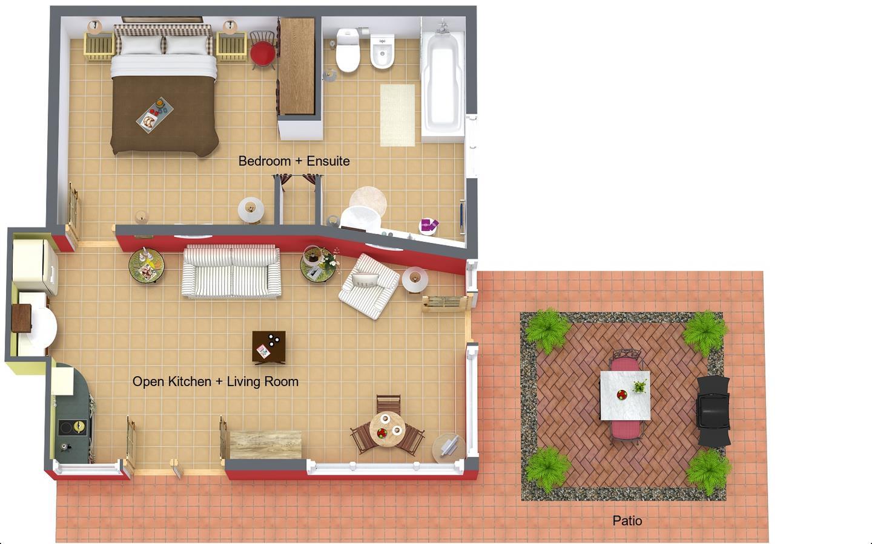 Casa Luna Floorplan