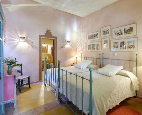 Best Place to Stay in Tarifa, Spain | Cortijo La Hoya | Casa Tramontana | Bedroom
