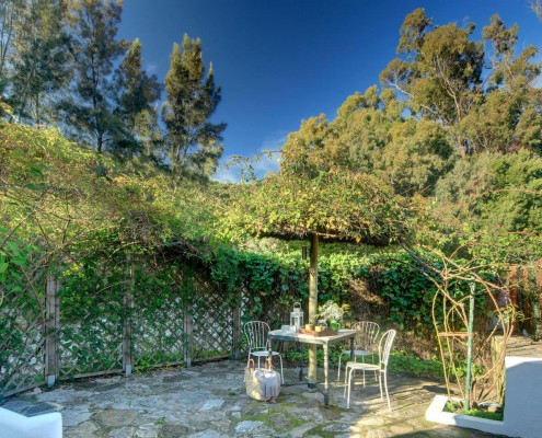 Best Place to Stay in Tarifa, Spain | Cortijo La Hoya | Casa Tramontana | Patio